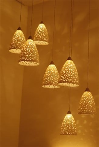 20 Off Pendant Light Ceramic Lighting Fixture Hanging