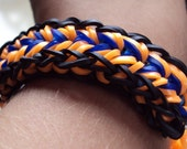 Feather Rainbow Loom Bracelet