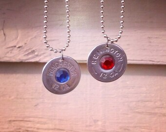 Remington and Winchester single shot necklace