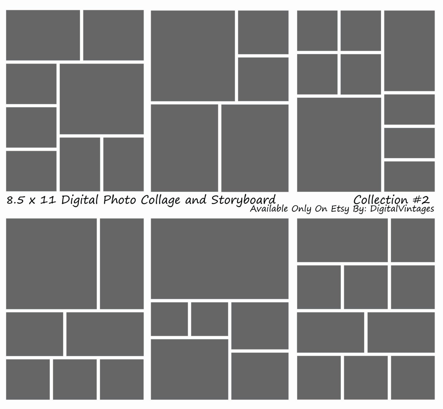 instant download storyboard photographers template 6. Black Bedroom Furniture Sets. Home Design Ideas