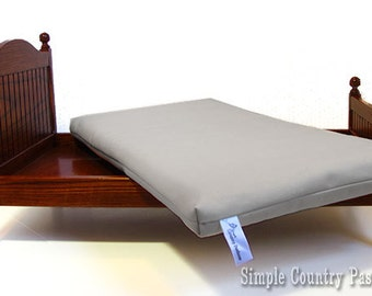 Mattress for Doll Bed - Fits perfectly in Wood Doll Bed