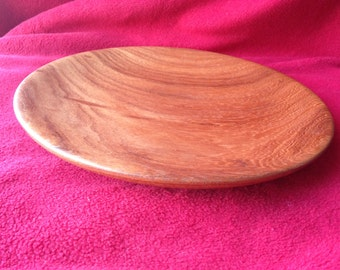 The Black Cabbage Wood Low Bowl