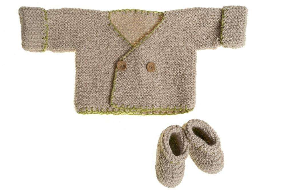 Knitting Patterns For Baby Booties Beginner : Booties Knitting Pattern Beginners