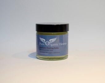 Heavenly Healing Balm - This salve soothes delicate skin and helps to alleviate dry skin complaints and rashes such as eczema.