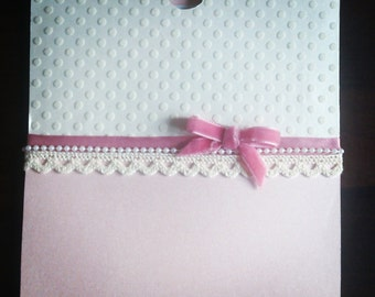 Pretty Pink Wallet Invitation