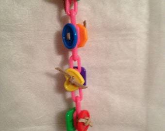 Bird Toy Small 531A Button Me Up