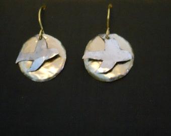 Birds in Flight earrings