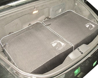 Porsche Boxster / Cayman 4-Piece Custom Fitted Luggage (1997-2011)