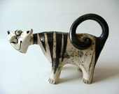 "ceramic sculpture "" Cat ""  - made to order"