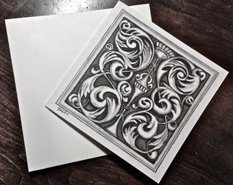 Architectural Detail Cards, set of 6