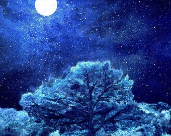 Moonlight - Signed limited edition print