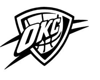 okc thunder logo coloring pages - photo#15