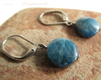 3056 - Earrings Apatite