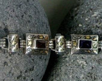 Balinese Sterling Silver Bracelet