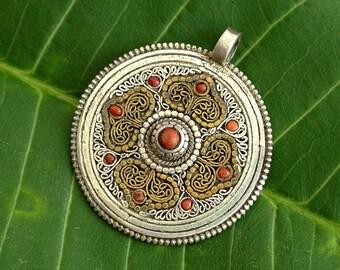Vintage Sterling Moroccan Pendant