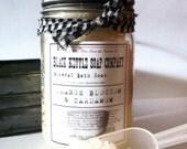 Dead Sea Bath Soak ORANGE BLOSSOM & Cardamom ...Black Kettle