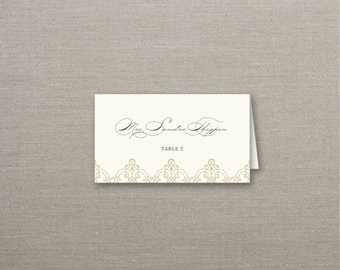 Alexa Tented Wedding Place Cards Deposit to Get Started