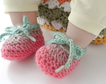 Adorable booties for that special baby!