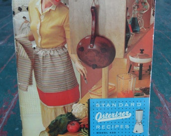 Vintage 1950s standard Osterizer recipes