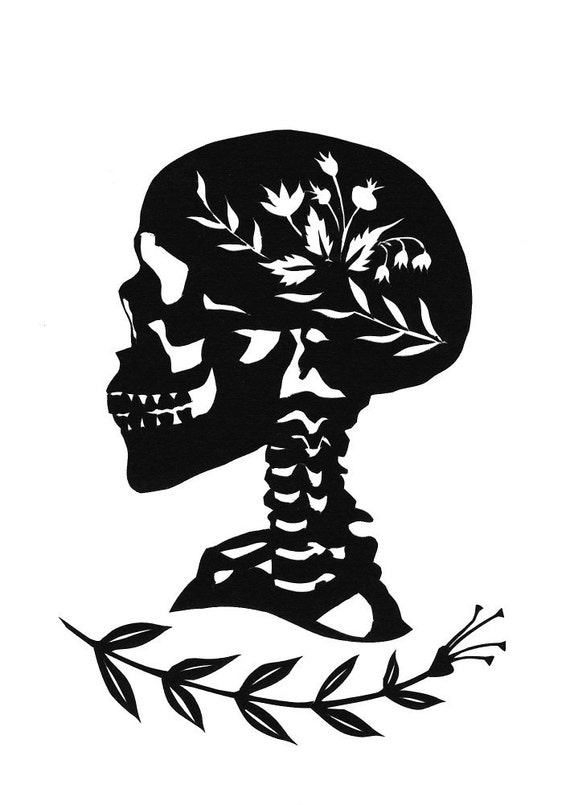 Halloween Skull Silhouettes Il 570xn 497336686 1zed jpgHalloween Skull Silhouette