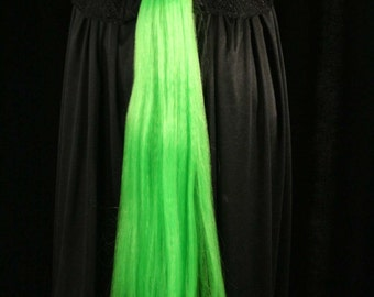 My Little Pony tail green raspberry jam hair fall tie on bustle style cosplay costume halloween - Sisters of the Moon