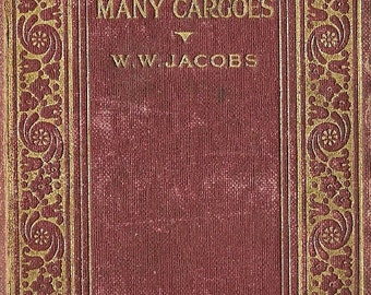 Vintage Many Cargoes by W. W. Jacobs, Literature, Reading Library Book