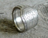 Silver Spoon Ring - Silver Anniversary 1927