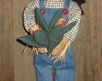 Scarecrow Doll, Epattern, PDF, Downloadable Digital Pattern