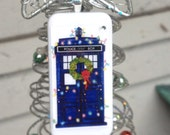 TARDIS DR. WHO Domino Christmas Ornament -  Gift with Every Purchase