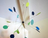 Sputnik Mobile - Mid-century Modern Style Nursery Mobile YOUR CHOICE of Colors
