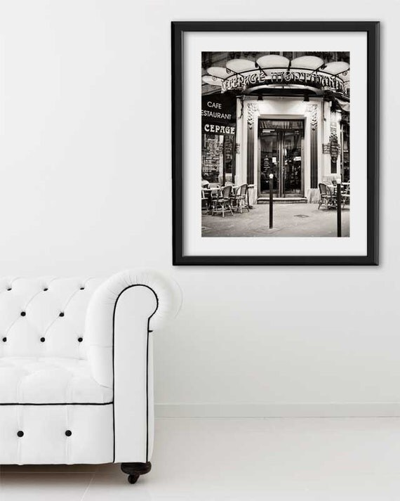 "SALE! Paris Print, ""Creperie"" Extra Large Wall Art, Paris Photography Art Print, Oversized Art, Fine Art Photography Paris Decor"