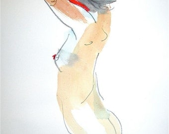 One minute pose 74.5  by Gretchen Kelly