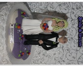 Traditional Personalized Wedding Cake Topper Enchanted You