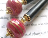 Delegate from the Enchanted Forest - OOAK Mini Hairsticks