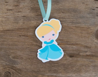 Cinderella & Friends - Set of 10 Cinderella Favor Tags by The Birthday House
