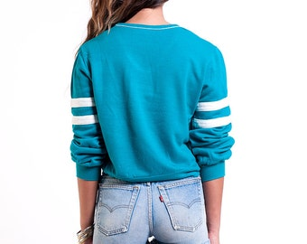The Turquoise Jersey Top
