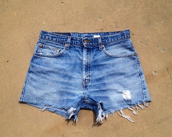 The Vintage Levi 505 Boyfriend Shorts