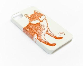 Fox iPhone 6S Case, iPhone 5S SE Case - iPhone 7 Case, Samsung Galaxy S7, S6, Case iPhone 6s Plus Case