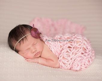 Newborn Wrap, Newborn Girl Blanket, Newborn Stretch Wrap, Newborn Photo Prop Blanket, Newborn Blanket Prop, Newborn Knit Wrap, Newborn Props