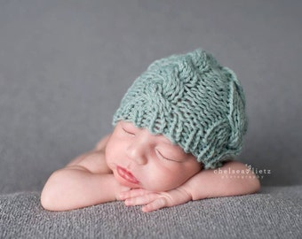 Knit Newborn Hat, Newborn Photo Prop Boy, Newborn Boy Hat, Newborn Hat Boy, Newborn Props Boy, Newborn Knit Hat, Custom Newborn Hat