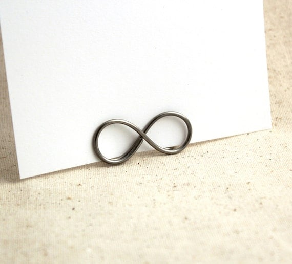 Infinity Table Card and Sign Holders - Table Number Stands for Weddings
