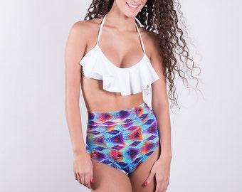 Magic Cobra High Waisted Bikini bottoms