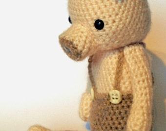 Pig Whitman - Pig Amigurumi Crochet Pattern