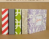 Two Giggles - Cloth Album with Personalization (Empty)