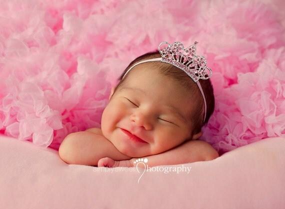 Pink Tiara Headband Baby Princess
