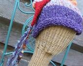 Adventurer's Cap - Handspun, handknit hat