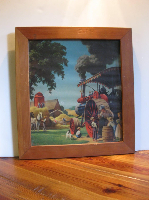 Vintage Paul Detlefsen Framed Print