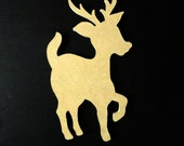 Reindeer Shaped MDF Board 15.5 inches/ MDF Board Mosaic Base/ Mosaic Supplies, Mosaics, Mosaic Base, Craft Supplies