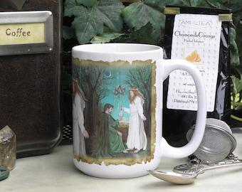 Beltane Grove 15 oz coffee mug
