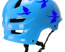 Reflective Dragons Decal Set / Dragons Helmet Safety Stickers  #680